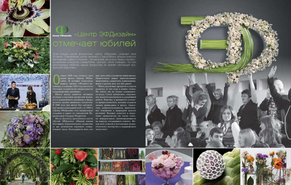 Журнал «Цветы». Ноябрь 2016